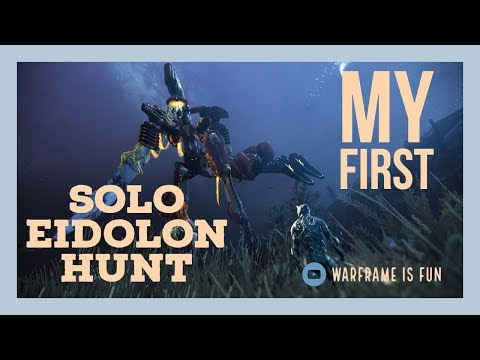 My First SOLO Eidolon hunt with Chroma Prime