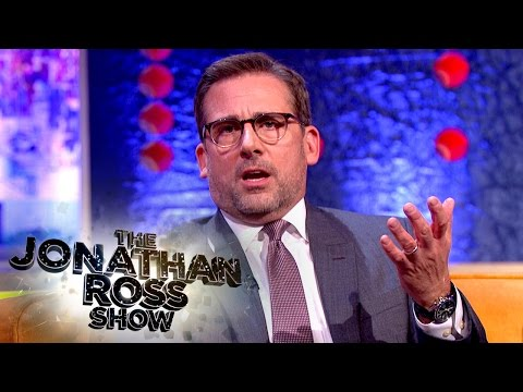 How Steve Carell And His Wife Started Dating - The Jonathan Ross Show