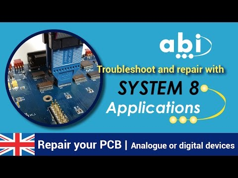 PCB test and maintenance made easy with ABI's SYSTEM 8 BoardMaster