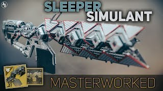 Sleeper Simulant Masterwork | Destiny 2 Exotic Catalyst Review
