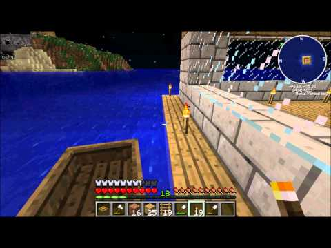 Let's Play Minecraft Tekkit S2E3 Offshore Work