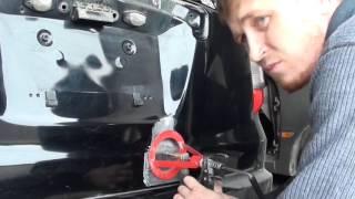 Honda Stream ремонт дверей