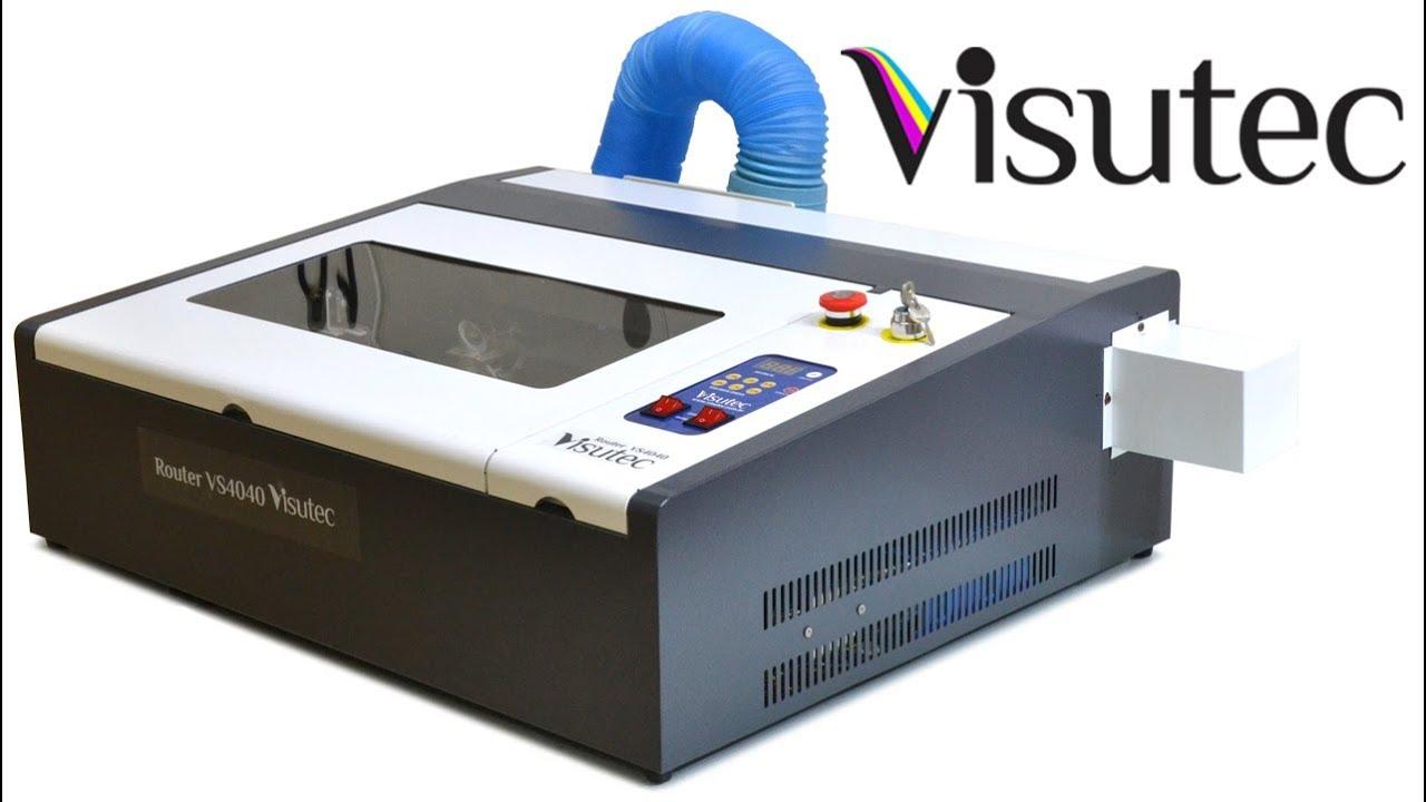 81fd1f14c Máquina Router Laser VS4040 Corte e Gravação 40x40cm - 50w - YouTube