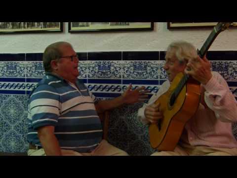 """Pepe Toscano en su Peña """"El rincón flamenco"""""""