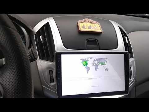 Chevrolet Cruze Android автомагнитола