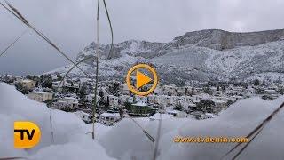 Dénia nevada 33 años después   vídeo
