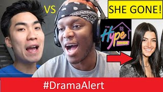 RiceGum Goes to WAR with KSI! #DramaAlert Charli D'Amelio LEAVES Hype House!