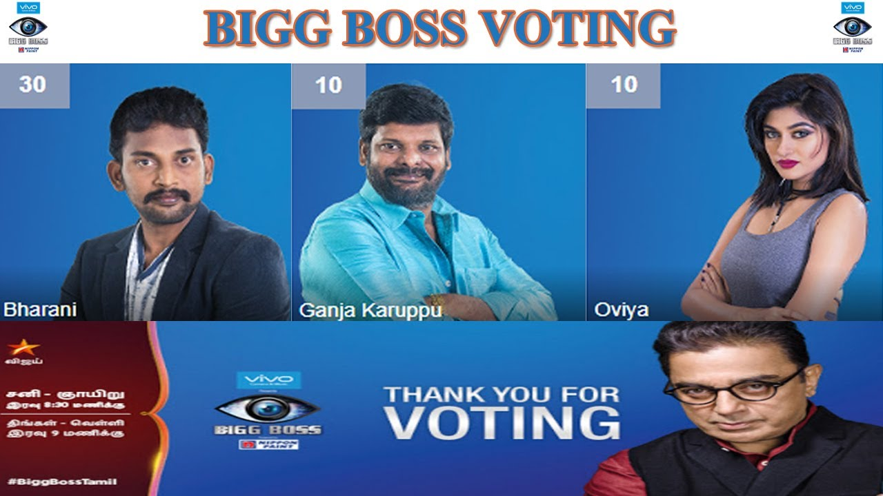 Colors website bigg boss 9 voting - How To Vote For Vijay Tv Bigg Boss Online Bigg Boss Voting Bharani Ganja Karuppu Oviya