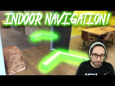Coding INDOOR NAVIGATION with A* Pathfinding in AR - YouTube
