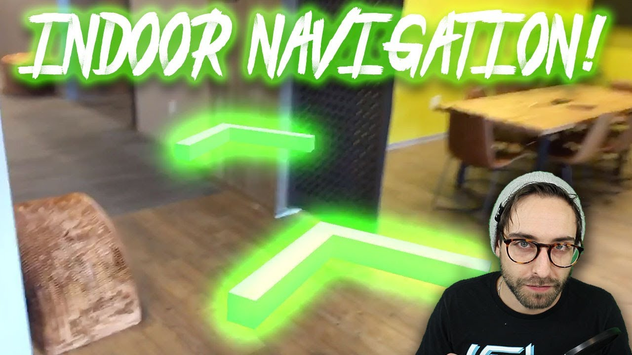Coding INDOOR NAVIGATION with A* Pathfinding in AR