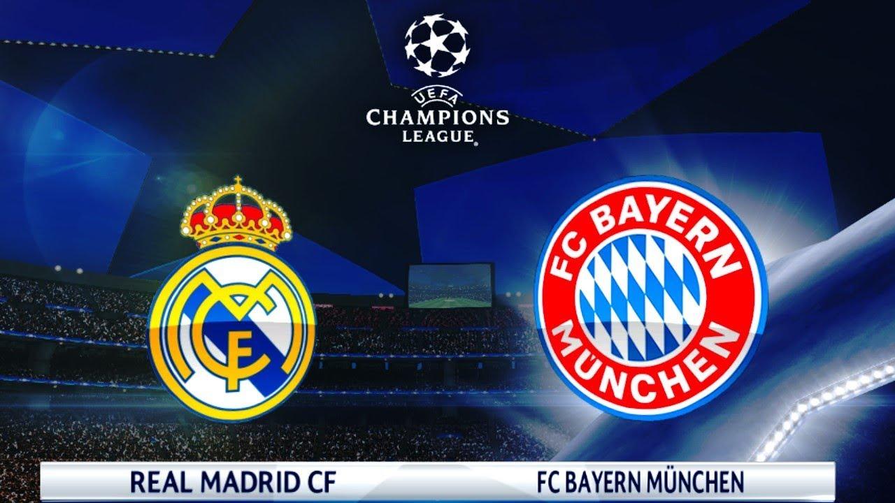 Real Madrid Vs Bayern Munich Uefa Champions League 2018 Gameplay Youtube