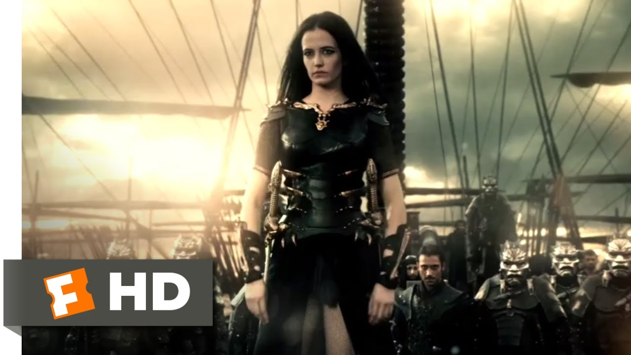 Download 300: Rise of an Empire (2014) - Artemisia's Wrath Scene (8/10) | Movieclips