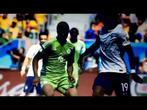 France vs Nigeria 2-0 all goals .