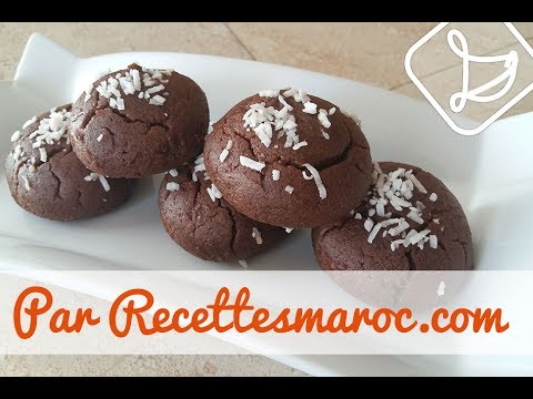 biscuits-moelleux-chocolat---melt-in-your-mouth-chocolate-cookies---بيسكوي-بالشكلاط