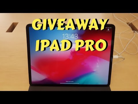 GIVEAWAY NEW APPLE IPAD PRO 2019!!! Review + Quick Look