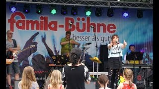 LIVE Konzert für Kinder mit Band, coole Mugge ♪ Familienunterhaltung Openair Kinderfest Kinderlieder