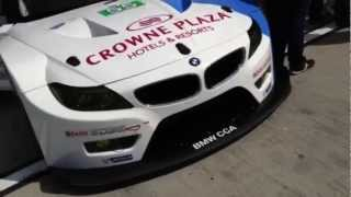 video thumbnail of BMW Team RLL Z4 GTE Reveal for ALMS 2013