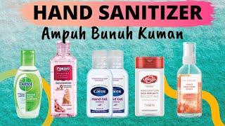 Rekomendasi hand sanitizer yang ampuh bunuh kuman