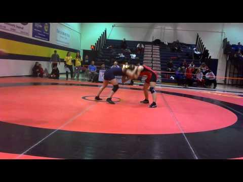 2014 Ontario Juvenile Championships: 52 kg Iva Mema vs. Julia Lei