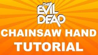 Evil Dead Chainsaw Hand Tutorial thumbnail