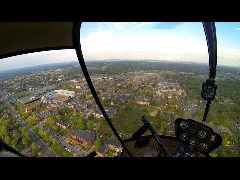 GoPro: R22 Helicopter Add-On Flight #22, XC/College FlyBy/Cl C Live ATC