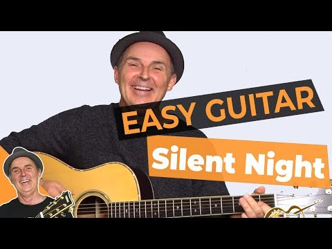 Silent Night - Easy Guitar Lesson