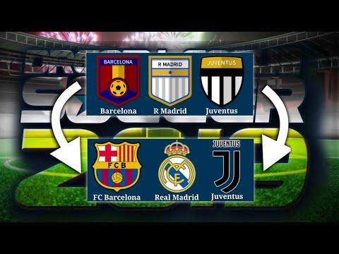 Escudos Licenciados Y Nombres Reales De Los Equipos Del Dream League Soccer 2019 6 12