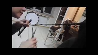 Ручная полировка волос в исполнении Полины Стрельченко в Академии Идеального Взгляда.
