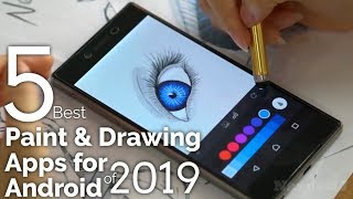 5 Best Paint & Drawing Apps for Android of 2019