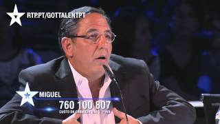 MIGUEL - LOUCURA (SOU DO FADO) - GALA 03 - GOT TALENT PORTUGAL 2015
