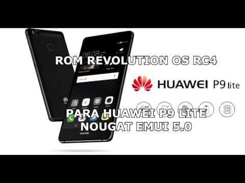ROM REVOLUTION OS RC4 - HUAWEI P9 LITE NOUGAT