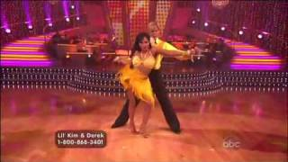 Lil' Kim & Derek Hough Dwts Week 3: The Samba!
