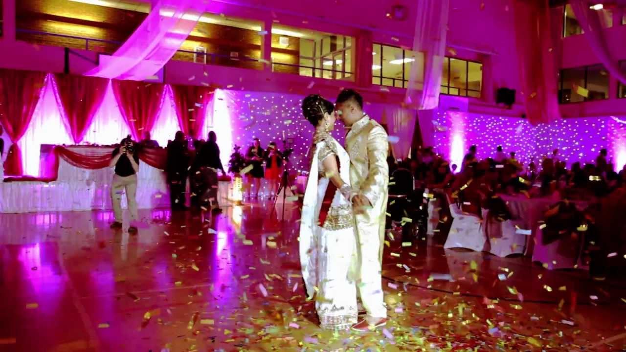 Asian Hindu Wedding Reception Ceremony Video Highlights Birmingham