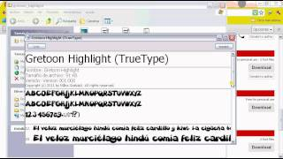 Como descargar e instalar FONTS - Tipos  de Letra - a tu PC