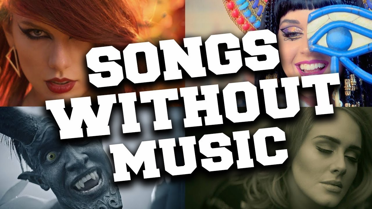 Popular Music Videos Without Music Music Vs Real Sounds 2 Youtube