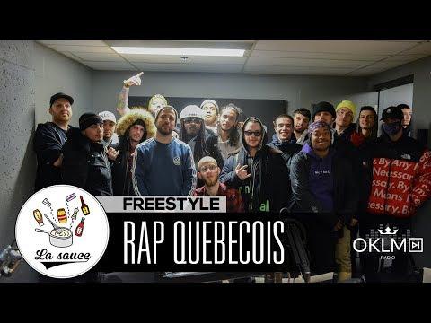 Youtube: Rowjay, Lost, White-B, MB, LaF, François Fondu, Salimo, Dr. Mad – Freestyle #LaSauce RAP QUÉBÉCOIS