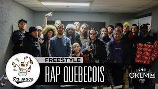 Baixar Rowjay, Lost, White-B, MB, LaF, François Fondu, Salimo, Dr. Mad - Freestyle #LaSauce RAP QUÉBÉCOIS