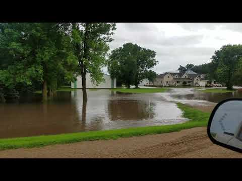 Flooding West of Marshall, MN