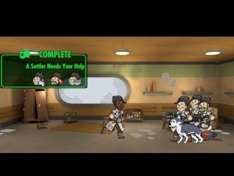 A Settler Needs Your Help [Finding Preston Garvey] - Part 5 Finale | Fallout Shelter Quest