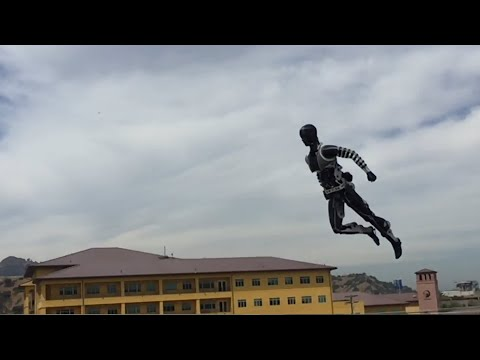 AI robots take off, with Boston Dynamics. Beyond Atlas. The Future Yall..