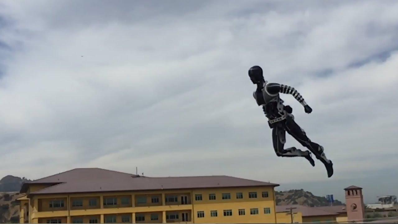 AI robots take off, with Boston Dynamics. Beyond Atlas' Parkour.