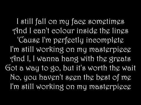 Masterpiece - Jessie J (with lyrics)