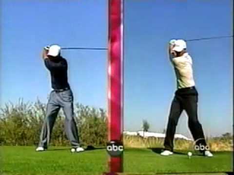 Tiger Woods vs Adam Scott