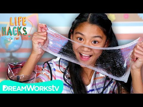 Invisible Slime + Other See-Through Hacks | LIFE HACKS FOR KIDS