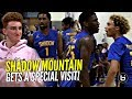 Shadow Mountain Got a Visit By Nico Mannion & #1 QB so You KNOW They Had to SHOW OUT!!