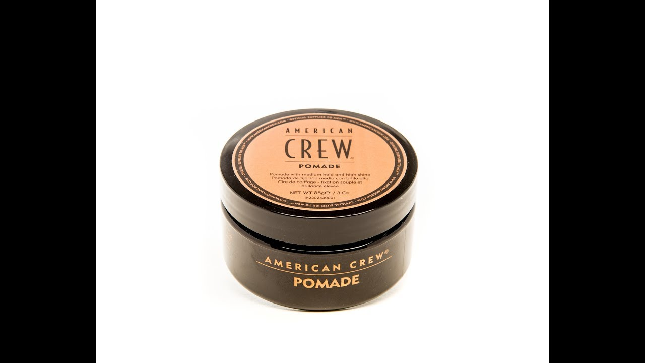 American Crew Pomade Original Hold Hair Product Review Youtube Tm