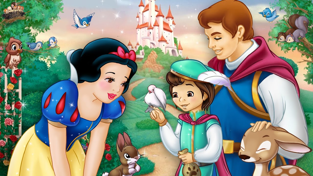 Snow White and the Prince have a son! And he sings for the animals too 👑🍎 | Alice Edit!