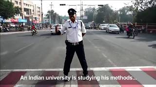 India's Moonwalking Traffic Cop