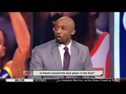 [HOT] Jason Terry & Mike Fratello QUESTIONABLE: Is Kawhi Leonard The Best Player In The East?
