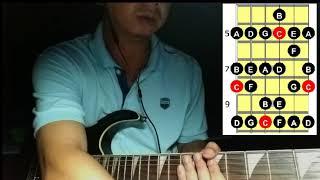 """Hướng dẫn Solo Lead Guitar sử dụng """"Ionian mode""""-Phần 2"""